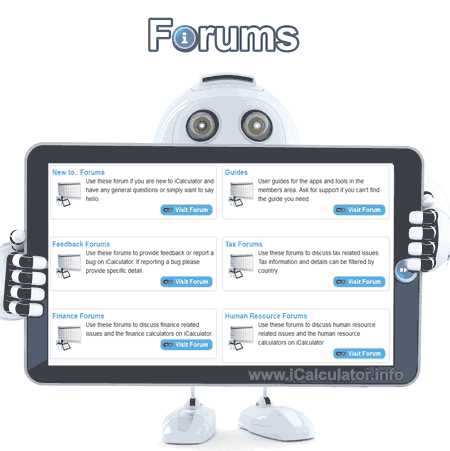 Leave a message on our tax forums